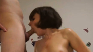 Fucked by wife together with a stranger
